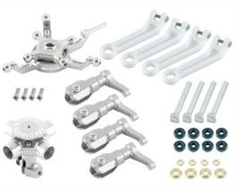 CNC Quad Blades Umbausatz - 4 Fach Rotorkopf für BLADE 250 CFX / 230S / V2 / Smart ohne Rotorblätter