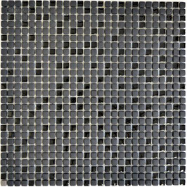 Mosaico Kuba MOS 10/10 mm NERO