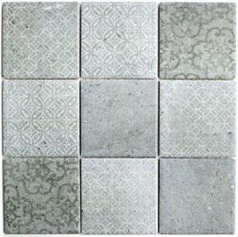 Mosaico RETRO SHABBY CHIC GRIGIO 10x10 cm