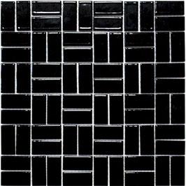 Mosaico PURO NERO KUBIK 23/48 LUC