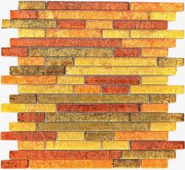 Mosaico Foglia Linear Oro