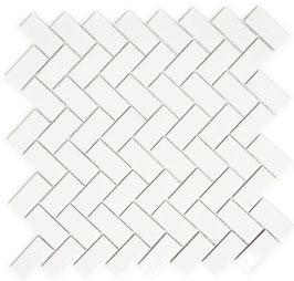 Mosaico PURO NEVE TRECCIA 23/48 LUC