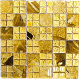Mosaico Riflessi 23/48mm Patch Oro