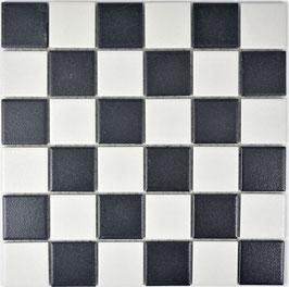 Mosaico Antiscivolo MIX BIANCO NERO BIG