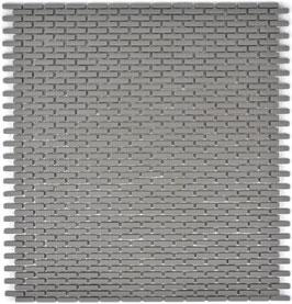 Mosaico Kuba BRICK 5/10 mm GRIGIO