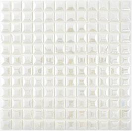 Mosaico ECO MOS 25/25 mm BIANCO PIRAMIDE 3D
