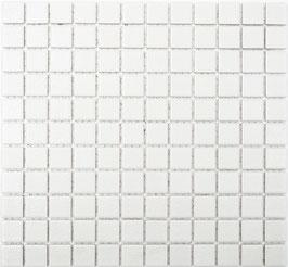 Mosaico Antiscivolo BIANCO
