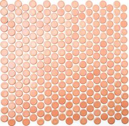 Mosaico Bottone TERRACOTTA MAT