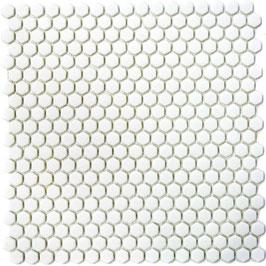 Mosaico Kuba ESAGONI 15mm BIANCO