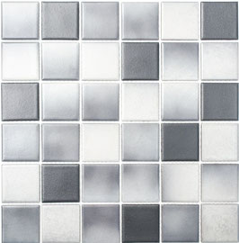Mosaico Antiscivolo MIX GREY BIG