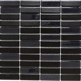 Mosaico PURO NERO VETRO 22/73 LUC