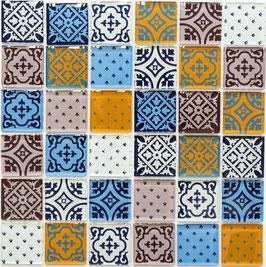 Mosaico Patchwork Primavera