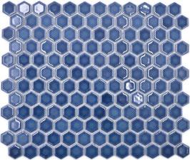 Mosaico Esagoni BLU LUC