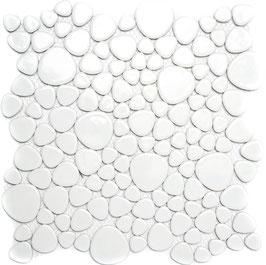 Mosaico Silex BIANCO LUC