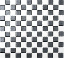 Mosaico Antiscivolo GRIGIO BIANCO