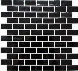 Mosaico PURO NERO RETTANGOLO 23/48 LUC