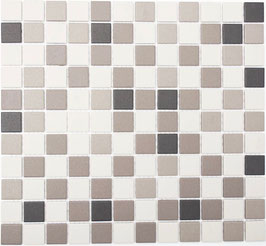 Mosaico Ruvido MIX BEIGE 25 non smaltato