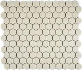 Mosaico Esagoni BEIGE ANTISCIVOLO opaco
