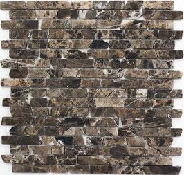 Mosaico Muretto Marmo Emperador anticato