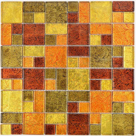 Mosaico Riflessi 23/48mm Mix Oro