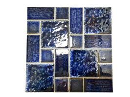 Mosaico Japan COMBINATO BLU lucido
