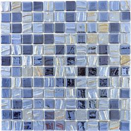 Mosaico ECO MOS 25/25 mm NERO PERLATO 3D