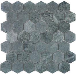 Mosaico Esagono 48mm Verde