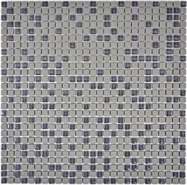 Mosaico Kuba MOS 10/10 mm GRIGIO