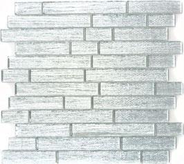 Mosaico Riflessi Brick Argento