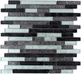 Mosaico Foglia Linear Argento