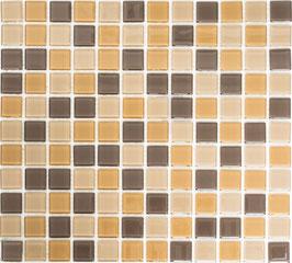 Mosaico CRYSTAL MIX MARRONE Vetro lucido