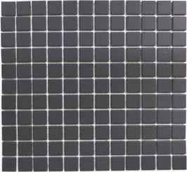 Mosaico Ruvido NERO 25 non smaltato