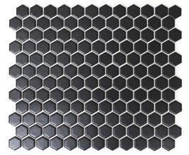 Mosaico Esagoni NERO MAT
