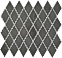 Mosaico Rombo BLACK LUCIDO