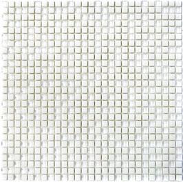 Mosaico Kuba MOS 10/10 mm BIANCO