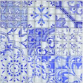 Mosaico Patchwork Optic Violet
