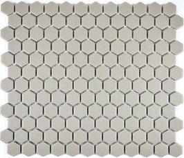 Mosaico Esagoni GRIGIO CHIARO ANTISCIVOLO opaco
