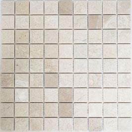 Mosaico Marmo 32mm Botticino anticato