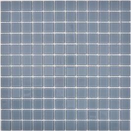 Mosaico GRIGIO Vetro Trasparente lucido