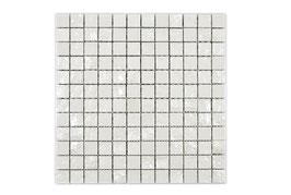 Mosaico 25mm GAKU Bianco spacco