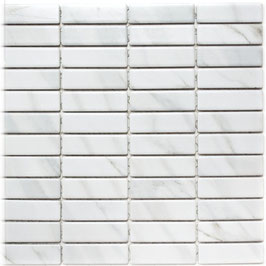 Mosaico Pietra BIANCO