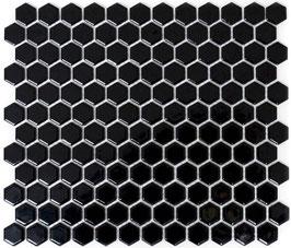 Mosaico Esagoni NERO LUC