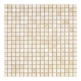 Mosaico in Botticino anticato