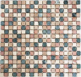 Mosaico Marmo 15mm Random anticato