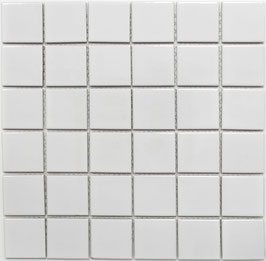 Mosaico PURO NEVE 48 LUC