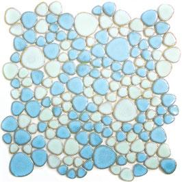 Mosaico Silex MIX AZZURRO LUC