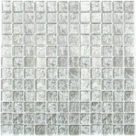 Mosaico Foglia 23mm Argento