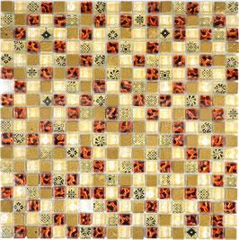 Mosaico 15mm Junior BROWN LIGHT
