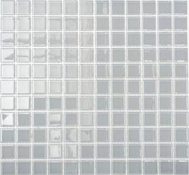 Mosaico CRYSTAL GRIGIO Vetro lucido