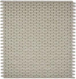 Mosaico Kuba BRICK 5/10 mm TAUPE